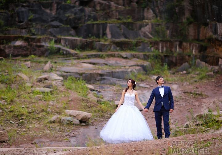 свадьба, карьер, базаихка